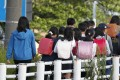 Nearly 80 per cent of victims were junior high school or high school students. Photo: Kyodo