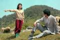A scene from North Korean film A Bellflower (1987).