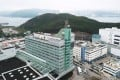 TVB's profit warning follows a round of lay-offs in June. The TVB headquarters building and TVB City in Tseung Kwan O Industrial Estate. Photo: Roy Issa