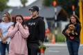 Residents pay their respects for the victims of the mosque attack in Christchurch. Photo: Xinhua