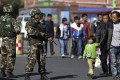 The white paper claims China has destroyed 1,588 terrorist groups in Xinjiang. Photo: Reuters