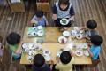 Young children at a nursery school in Yokohama. Photo: AFP