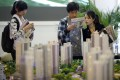 A real estate stand during the 2012 Spring Real Estate exhibition in Shanghai on May 1, 2012. Photo: REUTERS