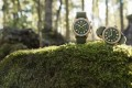 Montblanc's new 1858 timepieces feature bronze cases paired with green dials.