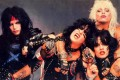 Motley Crue at the peak of their fame in the 1980s.