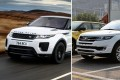 The Range Rover Evoque SUV (left) alongside Jiangling Motors' Landwind X7 SUV (right). Photo: Handout