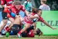 Despite her diminutive stature, Hong Kong women's rugby international Chong Ka-yan has been a force to be reckoned with in the local game. Photo: Ike Li