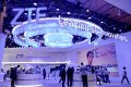 Telecommunications equipment maker ZTE Corp set up a giant booth at trade show MWC Barcelona in February to promote its range of 5G devices and applications. Photo: Bien Perez