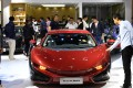 An electric car from Chinese carmaker Qiantu. Beijing has toughened subsidy rules for electric cars. Photo: Xinhua