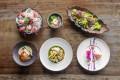 Cé La Vi's Art March set menu includes six contemporary Asian dishes.