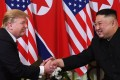Donald Trump and Kim Jong-un failed to find any common ground when they met in Hanoi. Photo: AFP