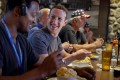 Mark Zuckerberg (centre), CEO of Facebook, says he 'doesn't like to waste time on small decisions' so simply eats whatever he feels he wants to eat on the day. Photo: Facebook