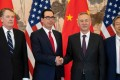 The trade talks between China and the United States continued last week in Beijing. Photo: AFP
