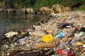 Plastic and other litter washed up on a beach in Clear Water Bay, Hong Kong. Photo: Tessa Chan