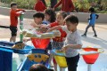 Children play in Hong Kong's first barrier-free government playground in Tuen Mun Park. Photo: K.Y. Cheng