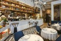 The interior of modern Greek restaurant Keia at H Queen's on Queen's Road Central in Hong Kong. Photo: Jonathan Wong