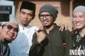 Four of the best-known clerics behind the hijrah movement gripping Indonesian millennials: Oemar Mita, Abdul Somad, Hanan Attaki, and Felix Siauw. Photo: YouTube