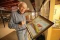Dan Robbins, paint-by-numbers pioneer, said his invention was inspired by Leonardo da Vinci. Photo: Larry Robbins