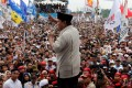 Prabowo Subianto at a campaign rally in Bogor, West Java province. Photo: Reuters