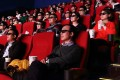 Movie-goers wear 3-D glasses in a cinema in Beijing. The industry looks set for a tough year ahead. Photo: Bloomberg