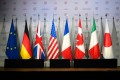 The G7 ministers' joint communique made no mention of the Belt and Road Initiative. Photo: AFP