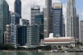 Singapore's central business district is bustling by day and close to deserted on a weekend. Its government wants to change this. Photo: AFP