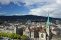 Aside from banks, Swiss pension funds and insurance companies are also significantly exposed to its real estate sector. According to the IMF, shocks to property prices could 'resonate through the economy'. Photo: Bloomberg