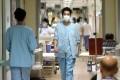 Doctors at Kwong Wah Hospital in Yau Ma Tei. Photo: Sam Tsang