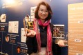 South China Morning Post reporter Liu Yujing wins the Citi Journalistic Excellence Award at Island Shangri-la Hotel on 10 April 2019. Photo: SCMP / K. Y. Cheng