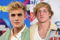 YouTube vlogger brothers Jake Paul (left) and his brother, Logan, earned more than US$35 million between them from June 2017 to June 2018. Photos: Associated Press