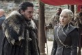 Jon Snow (Kit Harington, left), and Daenerys Targaryen (Emilia Clarke) both have come a long way since the start of HBO's Game of Thrones. Photo: HBO