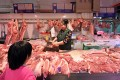 The industry's dismal outlook is most likely to push prices higher and trigger inflationary pressure for pork, a Chinese staple, in the world's largest pork market. Photo: AFP
