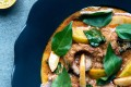 Duck curry with snake fruit from Nahm. The restaurant won a Michelin star last year.