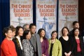 The 12,000 Chinese immigrants who worked on the Central Pacific Railroad between 1865 and 1869 were inducted into the US Department of Labor's Hall of Honor during a ceremony attended by their descendants in Washington on May 9, 2014. The US signed an equal treaty with China in 1868, but it was replaced with the infamous Chinese Exclusion Act in 1882. Photo: Xinhua