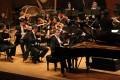 Jean-Frédéric Neuburger (on piano) playing Schumann with the Hong Kong Sinfonietta in the orchestra's 2019-20 season opening concert. Photo: Hong Kong Sinfonietta