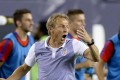 US head coach Jurgen Klinsmann reacts during a Copa America Centenario match against Paraguay in 2016. Photo: AFP