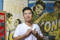 Douglas Young, co-founder of G.O.D., at his Shek Kip Mei studio in Hong Kong. Photo: Tory Ho