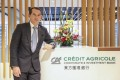 Jacques Ripoll, chief executive of Credit Agricole's corporate and investment banking arm, says there is a lot of interest from Chinese companies to acquire European businesses. Photo: Winson Wong