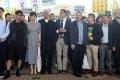 The defendants (left to right): Tommy Cheung Sau-yin; Chung Yiu-wa; Tanya Chan; Chu Yiu-ming; Chan Kin-man; Benny Tai; Raphael Wong; Lee Wing-tat; and Shiu Ka-chun. Photo: Sam Tsang