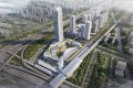 An artist's impression of SHKP's commercial and retail complex in the Nansha district of Guangzhou city. Photo: Handout
