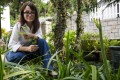 Katie Vajda is a 42-year-old artist and photographer who lives in Sai Kung, Hong Kong, and loves working in her garden.