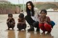 Praya Lundberg at the Kutupolong refugee camp in Bangladesh, last year.
