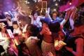 Dancers celebrating the start of Japan's new Reiwa imperial era at the Maharaja nightclub in Tokyo's Roppongi district. Photo: Reuters