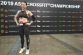 Guangzhou CrossFit athlete Boboyu, 38, who competed with her team Terra Cotta, said as soon as she arrived in Shanghai she was welcomed at a box to train, exemplifying the tight-knit community of CrossFit, even in China. Photo: Patrick Blennerhassett