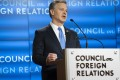 """FBI director Christopher Wray speaks at the Council on Foreign Relations in Washington last Friday, at which he discussed threats to the US, including China's """"stealing innovation in any way it can"""". Photo: Bloomberg"""