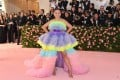Nichapat Suphap arrives for the 2019 Met Gala in New York. Photo: AFP