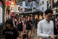 The amount of innovation underway makes long term forecasting problematic, especially when it comes to the future needs for urban space, writes Nicholas Brooke. Pedestrians in the popular shopping district of Causeway Bay in Hong Kong. Photo: AFP