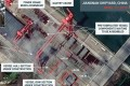 A satellite image shows what appears to be the construction of a third Chinese aircraft carrier at the Jiangnan Shipyard in Shanghai. Photo: CSIS/ ChinaPower/ Maxar Technologies via Reuters