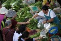 Consumer price inflation accelerated to 2.5 per cent in April from a year earlier, its highest level since October, up from 2.3 per cent in March, according to data released by the National Bureau of Statistics (NBS) on Thursday. Photos: Reuters