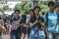 Undergraduates at the University of Hong Kong in Pok Fu Lam, seen on September 18. With an estimated one in two jobs set to be taken over by automation and artificial intelligence, universities need to change the way they prepare undergraduates for employment. Photo: K.Y. Cheng